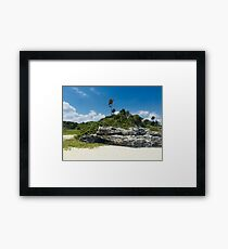 PlayaCar 2 (Pictures of Mexico) Framed Print