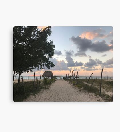 Playa del Carmen (Pictures of Mexico) Canvas Print