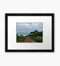 Tulum Ruins (Pictures of Mexico) Framed Print
