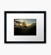 Sunrise in Monterrey (Pictures of Mexico) Framed Print