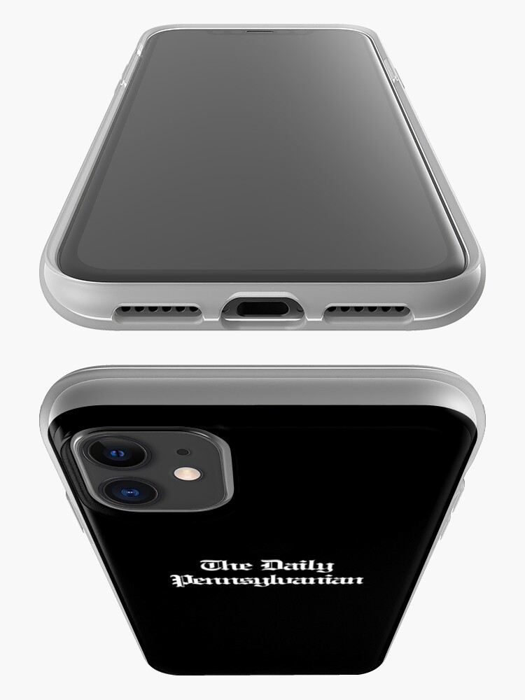 Alternate view of The DP Multi-line White Wordmark iPhone Case & Cover