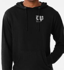 The DP Square White Logo Lightweight Hoodie