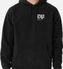 The DP Square White Logo Pullover Hoodie