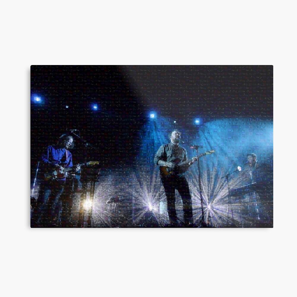 Blasorchester-Foto-Mosaik-Druck Metallbild