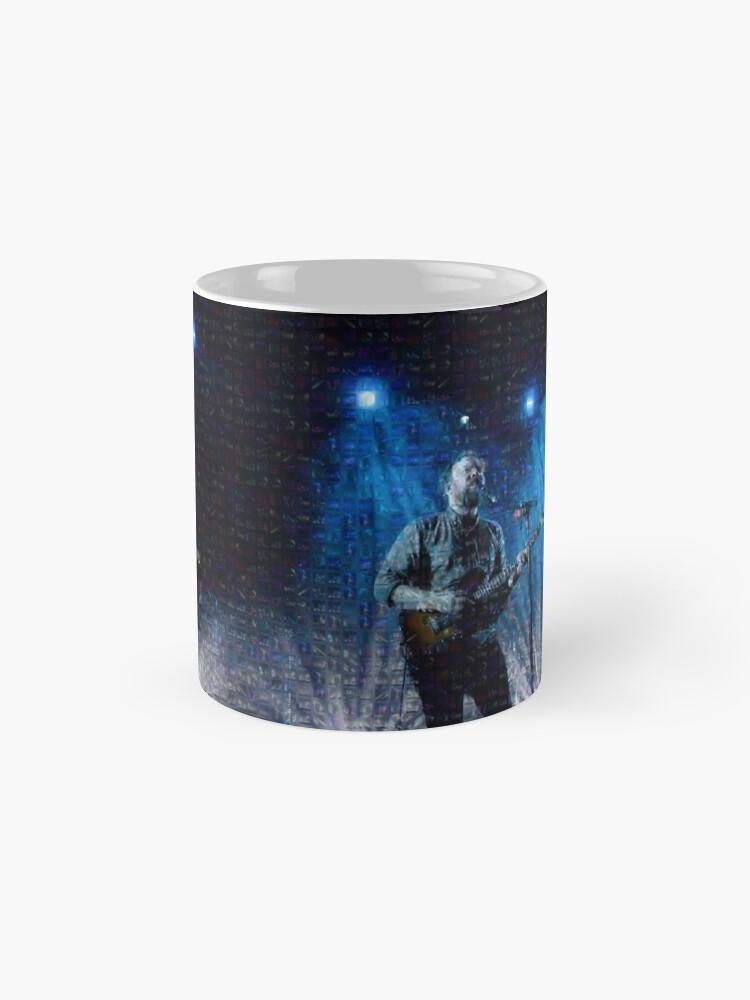 Alternative Ansicht von Blasorchester-Foto-Mosaik-Druck Tasse