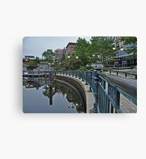 Providence Reflections Canvas Print