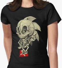 Hedgehog Skeletal System Women's Fitted T-Shirt