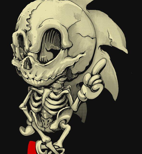 Hedgehog Skeletal System by jimiyo