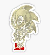 Hedgehog Skeletal System Sticker