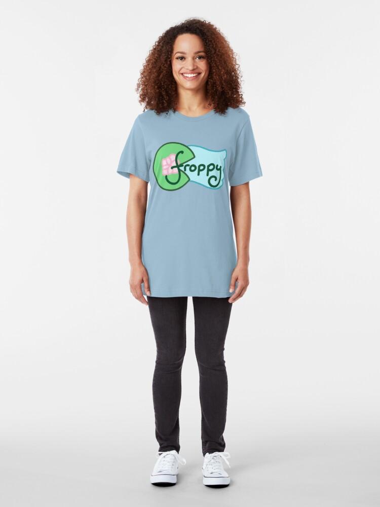 Alternate view of Tsuyu Asui: Froppy Slim Fit T-Shirt