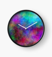 Nebula - Dreamy Psychedelic Space Inspired Art Clock