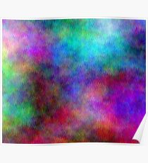 Nebula - Dreamy Psychedelic Space Inspired Art Poster