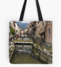 Annecy river Tote Bag