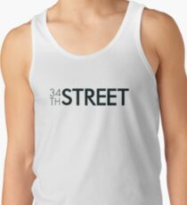 34th Street Magazine Black Logo Tank Top