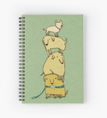 Puppy Totem Spiral Notebook