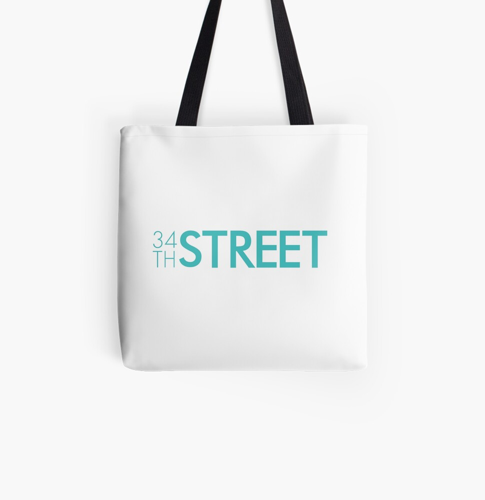 34th Street Magazine Classic Logo All Over Print Tote Bag