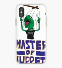 Master Of Muppets iPhone Case