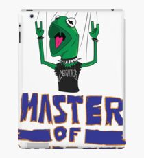 Master Of Muppets iPad Case/Skin