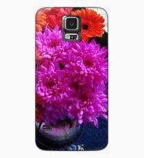 Lebendige rosa Blumen für Muttertag Hülle & Klebefolie für Samsung Galaxy