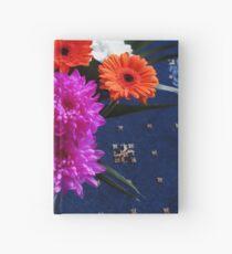 Lebendige rosa Blüten zum Muttertag Notizbuch
