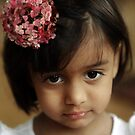 The portrait with the flower by Sashy