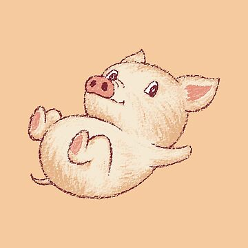 Lindo cerdo relajarse de sanogawa