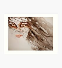 do you really see me? © 2009 patricia vannucci   Art Print