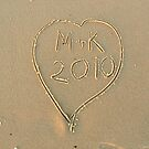 On the Beach 3, (Love Letters). by mariarty