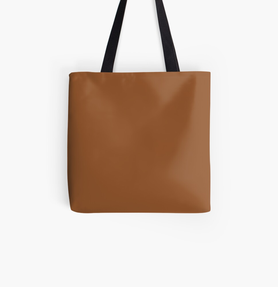 Sugar Almond 18-1155 TCX   Pantone   Color Trends   New York   Fall Winter 2019 2020   Solid Colors   Fashion Colors   All Over Print Tote Bag