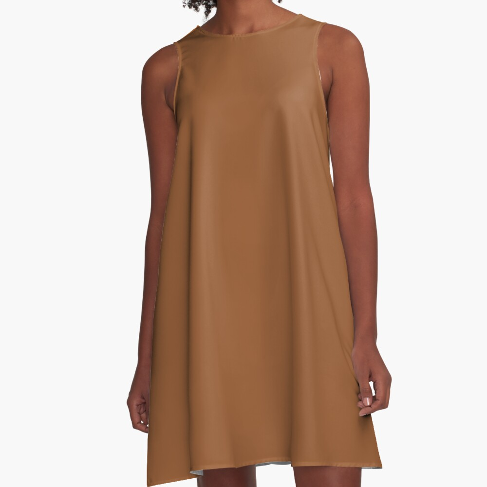 Sugar Almond 18-1155 TCX | Pantone | Color Trends | New York | Fall Winter 2019 2020 | Solid Colors | Fashion Colors | A-Line Dress