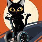 Stehendes Motorrad von BATKEI