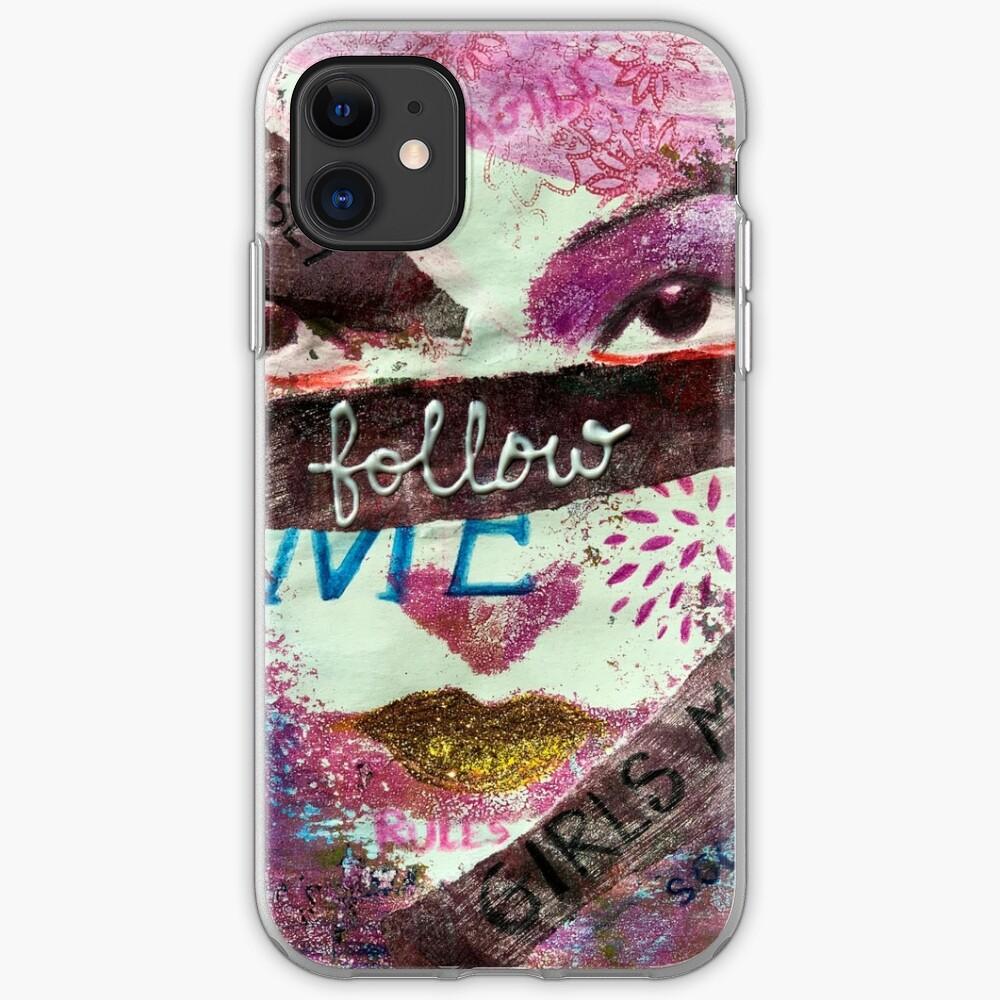 Follow Me iPhone Soft Case