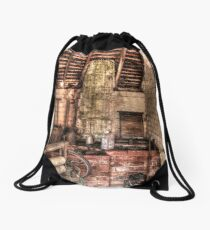 Ancient Wash Room Drawstring Bag