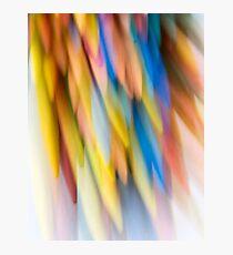 Multi-Colored Photographic Print