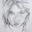 blonde girl by Jeremy McAnally
