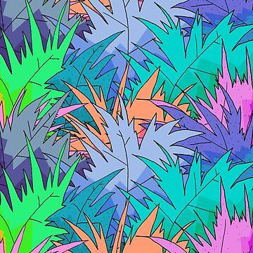 Tropische Blätter von steveswade