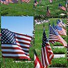 "Memorial Flags von Lenora ""Slinky"" Ruybalid"