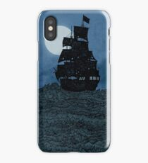 Sailing Under The Moon iPhone Case/Skin