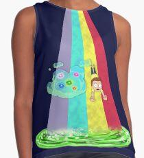 Rainbow Morty Sleeveless Top