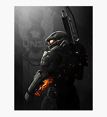 Halo 4 Master Chief - United He Stands Photographic Print