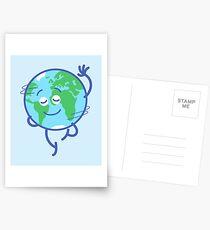 Schöner Planet Erde, der sich liebenswürdig dreht Postkarten