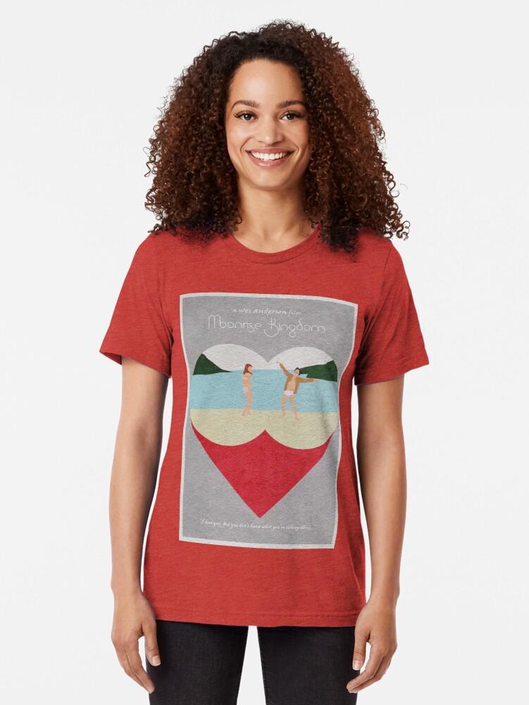 Alternative Ansicht von Moonrise Kingdom Vintage T-Shirt