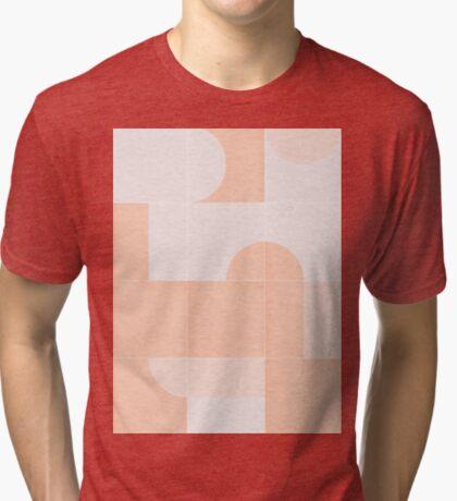 Retro Tiles 06 #redbubble #pattern Tri-blend T-Shirt
