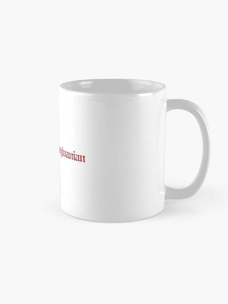 Alternate view of The DP Wordmark Red Mug