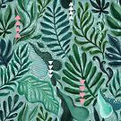 Tropische Blätter von Anna Alekseeva