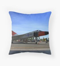 Past In colour Throw Pillow