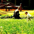 mother and daughter in the park by xxnatbxx