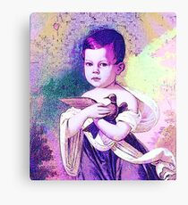 PEACE ~ PLEASE ~ FOR THE CHILDREN Canvas Print