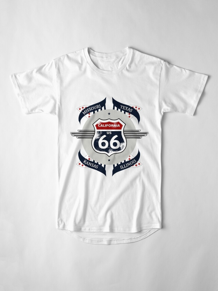 Alternate view of Route 66 my new version Long T-Shirt