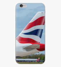 British Airways Airbus A320 tail livery iPhone Case